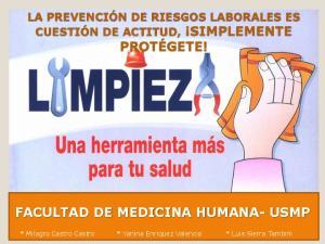 FACULTAD DE MEDICINA HUMANA- USMP