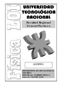 Facultad Regional General Pacheco