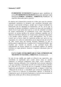 FACULTADES EXTRAORDINARIAS PARA SUPRESION DE TRAMITES EN MATERIA AMBIENTAL-Desbordamiento
