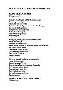 FADO DE BANDARRA (Thiago Amud)
