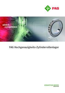 FAG Hochgenauigkeits-Zylinderrollenlager