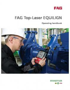 FAG Top-Laser EQUILIGN. Operating handbook