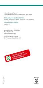 Fahrplanauskunft und Ticketkauf mobil mit der VRR-App
