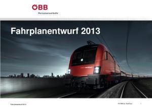 Fahrplanentwurf Fahrplanentwurf PV-RM Ost Bernhard