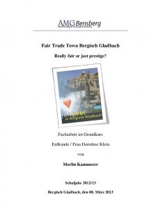 Fair Trade Town Bergisch Gladbach