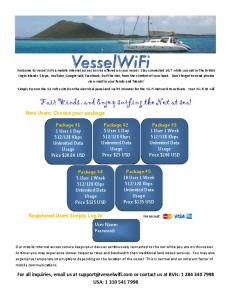 Fair Winds, and Enjoy surfing the Net at sea!