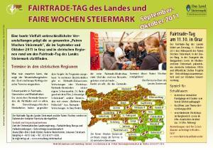 FAIRTRADE-TAG des Landes und FAIRE WOCHEN STEIERMARK