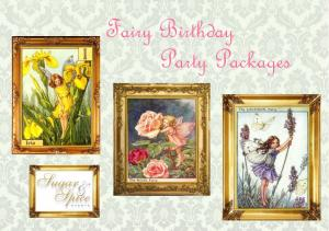 Fairy Birthday Party Packages