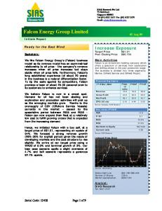 Falcon Energy Group Limited