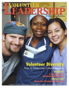 Fall 2006 A Volunteering Resource Volunteer Diversity