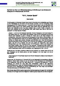 Fall 3 Karsten Speck