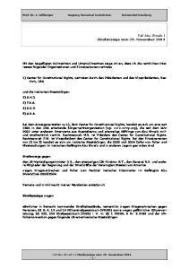 Fall Abu Ghraib I Strafanzeige vom 29. November 2004