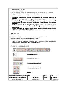 Familiarizarse con el uso de los iconos de la herramienta Cabri II Plus