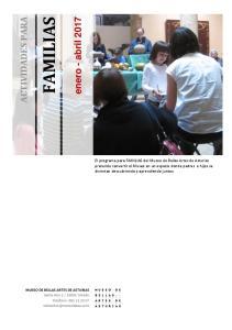 FAMILIAS ACTIVIDADES PARA
