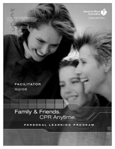 Family & Friends CPR Anytime
