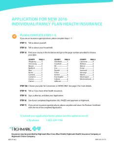 FAMILY PLAN HEALTH INSURANCE