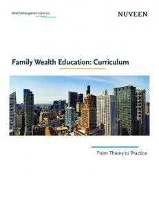 Family Wealth Education: Curriculum