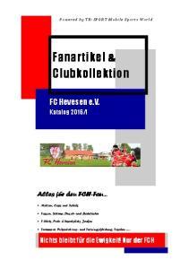 Fanartikel & Clubkollektion