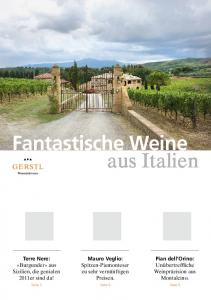Fantastische Weine aus Italien