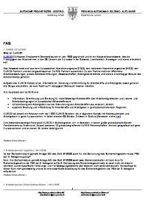 FAQ. Die Hauptziele von EURES sind: