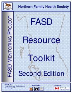 FASD Resource Toolkit