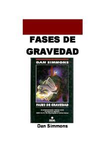 FASES DE GRAVEDAD. Dan Simmons