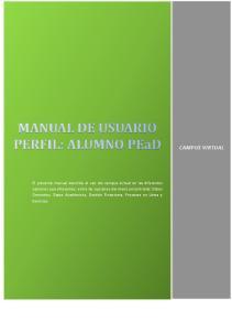 FASES DEL MANUAL DE USUARIO