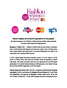 Fashion Orchard brings fashion to the people!