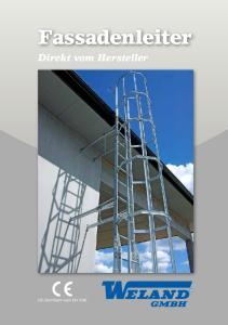 Fassadenleiter Direkt vom Hersteller