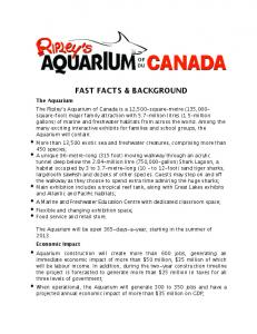 FAST FACTS & BACKGROUND