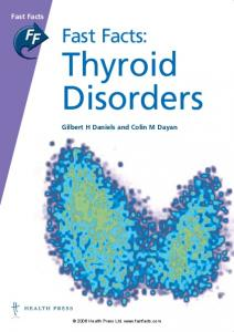 Fast Facts: Thyroid Disorders