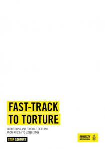 FAST-TRACK TO TORTURE