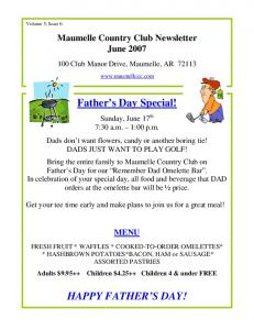 Father s Day Special!