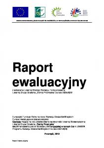 fax kom Raport ewaluacyjny