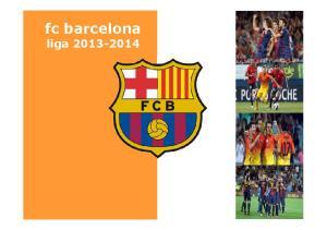 fc barcelona fc barcelona liga