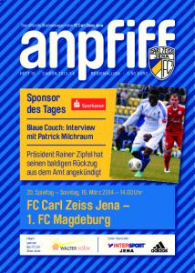 FC Carl Zeiss Jena 1. FC Magdeburg