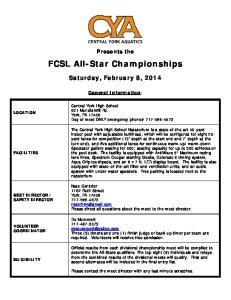FCSL All-Star Championships