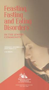 Feasting, Fasting and Eating Disorders
