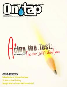 Features. In Every Issue. Tear-Out Insert. 16 Acing the Test: How to Prepare for. 21 Rehabilitation of Colonias Continues