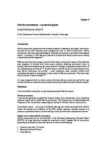 Febrile convulsions a practical guide