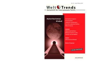 Februar 2012 We l t Tre n d s ISSN: , (2012) 82 We l t Tre n d s