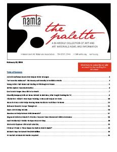 February 10, 2016 Table of Contents