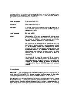 Fecha del Consejo 30 de noviembre de 2005