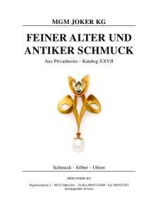 FEINER ALTER UND ANTIKER SCHMUCK