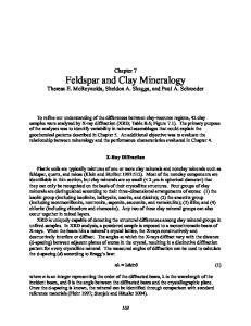 Feldspar and Clay Mineralogy