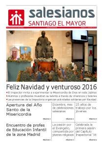 Feliz Navidad y venturoso 2016