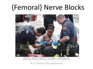 {Femoral} Nerve Blocks