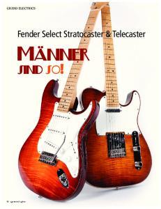 Fender Select Stratocaster & Telecaster