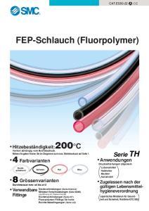 FEP-Schlauch (Fluorpolymer)