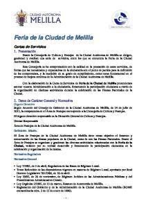 Feria de la Ciudad de Melilla